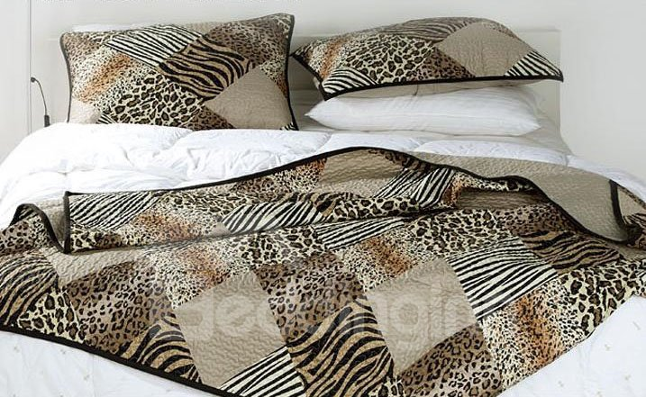 Super Cool Leopard Pattern Bed in a Bag