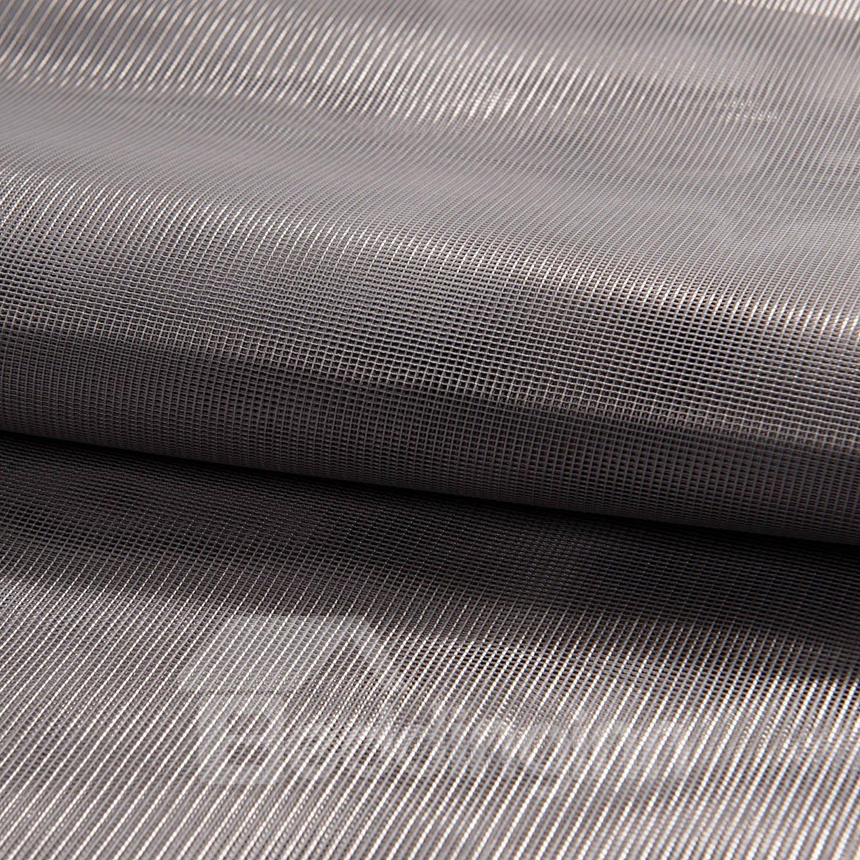 Elegant deep gray plain color custom sheer curtain for Deep grey color