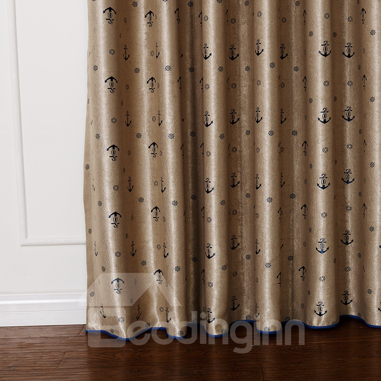 High Class Pretty Dyeing Double Color Custom Curtain
