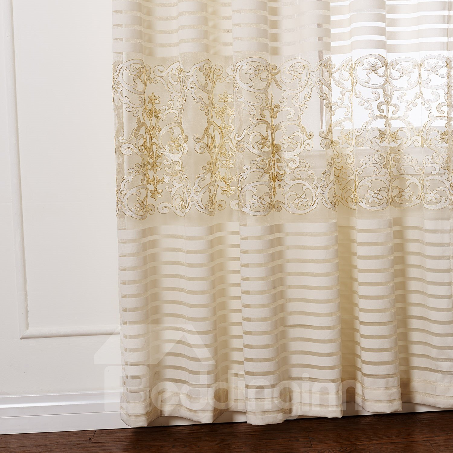 Top Selling Wonderful Two Pieces Custom Sheer Curtain