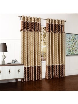 Top Quality Grommet Top Pretty Custom Curtain