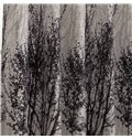 Attractive Elegant Pretty Trees Printing Custom Curtain