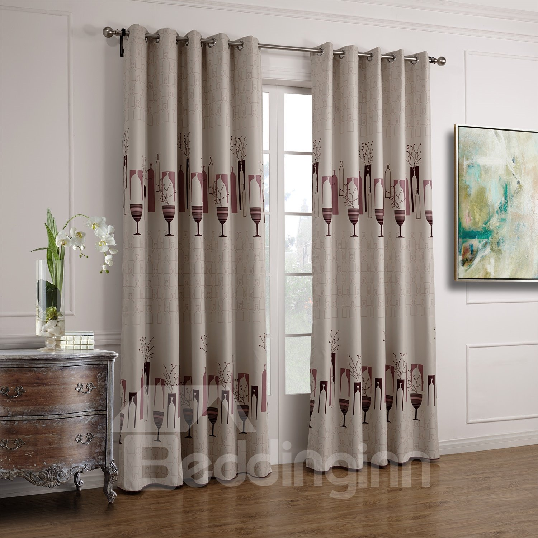 Modern Home Fashion Stytish Functional Custom Curtain