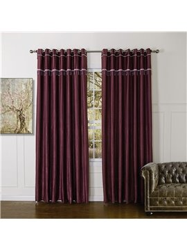 Top Class High Quality Granular Villus Custom Made Curtain