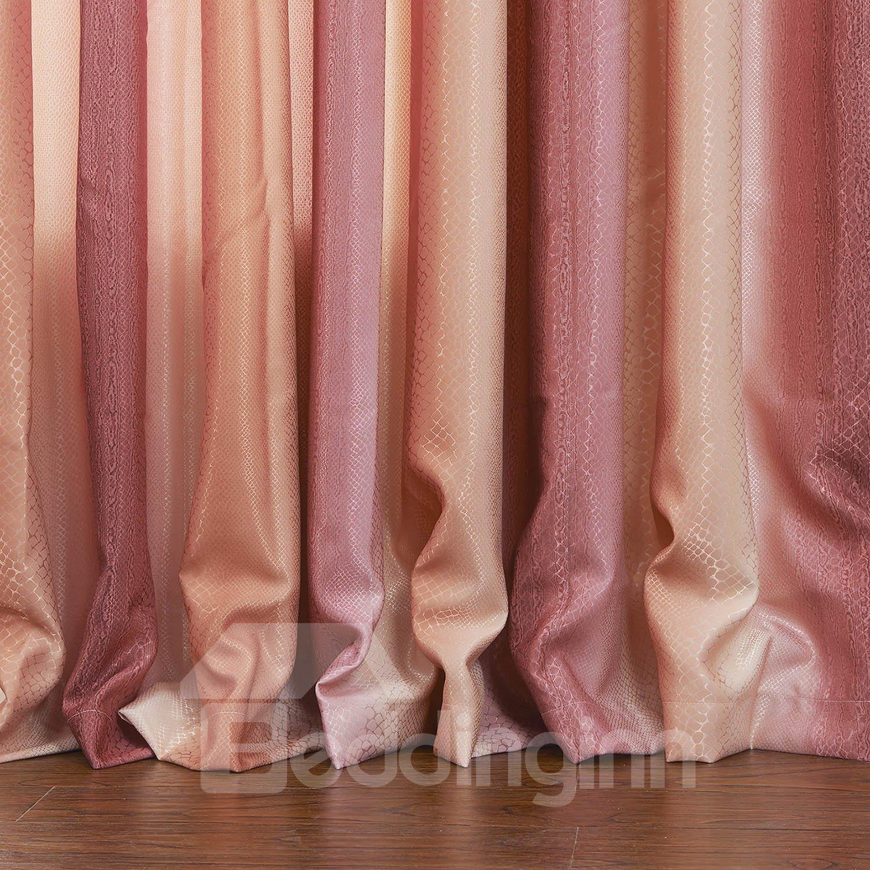 Graceful Pretty Red Checks Pattern Custom Curtain