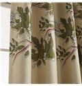 Elegant Grommet Top Two Pieces Custom Curtain