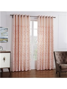 Top Quality Pretty Subtle Floral Pattern Custom Curtain
