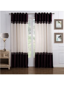 Popular Wonderful Pretty Grommet Top Custom Curtain