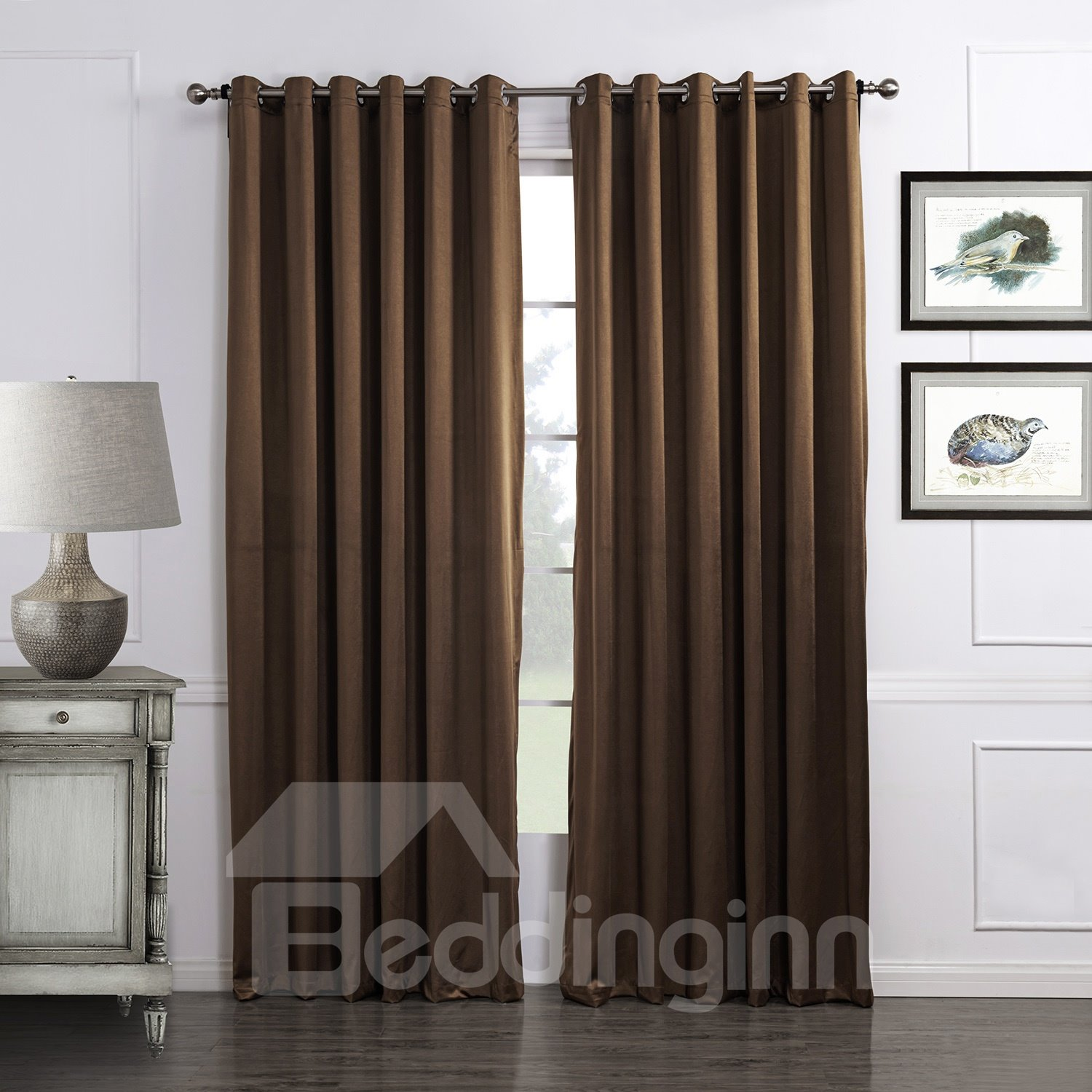 High Quality Popular Dyeing Pretty Custom Curtain