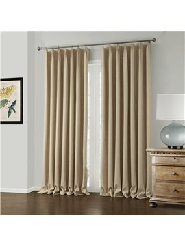 Amazing Elegant Beige Jacquard Pattern Custom Curtain