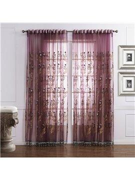 Fantastic Amazing Popular Brown Custom Sheer Curtain