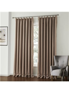 Fantastic Elegant Beige Amboss Pattern Custom Curtain