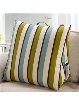 Super Soft Hand-held Stripes Pattern 3D Throw Pillow