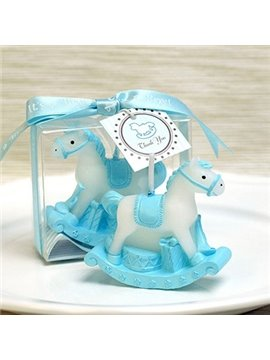 New Arrival Small Cartoon Hobbyhorse Candle for Birthday Parties