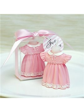 New Arrival Pretty Baby Dress Candle for Children's Birthday Parties