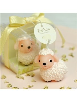 Chinese Zodiac Series Happy Sheep Candle for Children's Birthday Parties