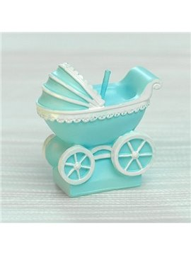 New Arrival Smokeless Handmade Baby Carriage Candle