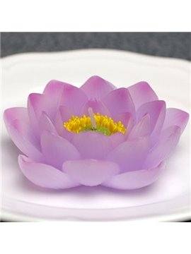 Buddhism Items for Memorial Ceremonies Purely Handmade Lotus Candle