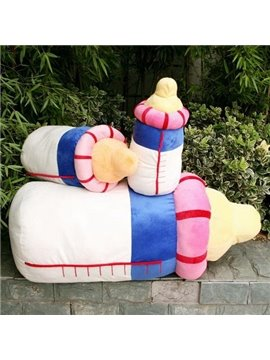 Super Lovely Pacifier Shape Pattern Throw Pillow
