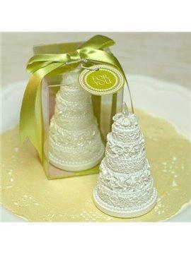 Hot Selling Romantic Wedding Cake Shape Candle