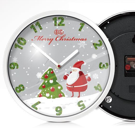 Fantastic Wonderful Quartz Mute Cute Cartoon Christmas Watch