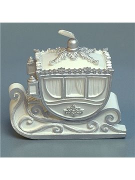 New Arrival Luxurious Christmas Sleigh Car Candle