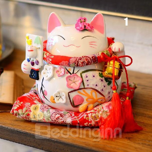 Fantastic Wonderful Pretty Large Size Fortune Cat