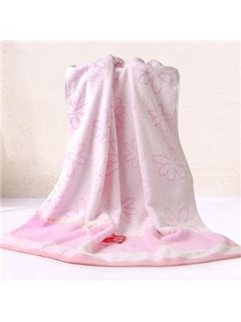 Super Pretty Cozy Floral Printing Bath Towel