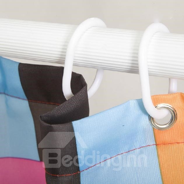 New Style Fashion Polyester Waterproof Shower Curtain