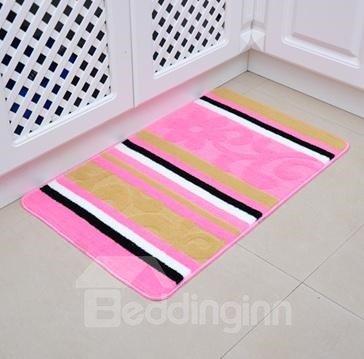 Super Soft Elegant Floral Design Bath Mat