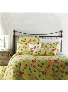 Thicken Comfortable Beautiful Flowers Pattern Bed in a Bag