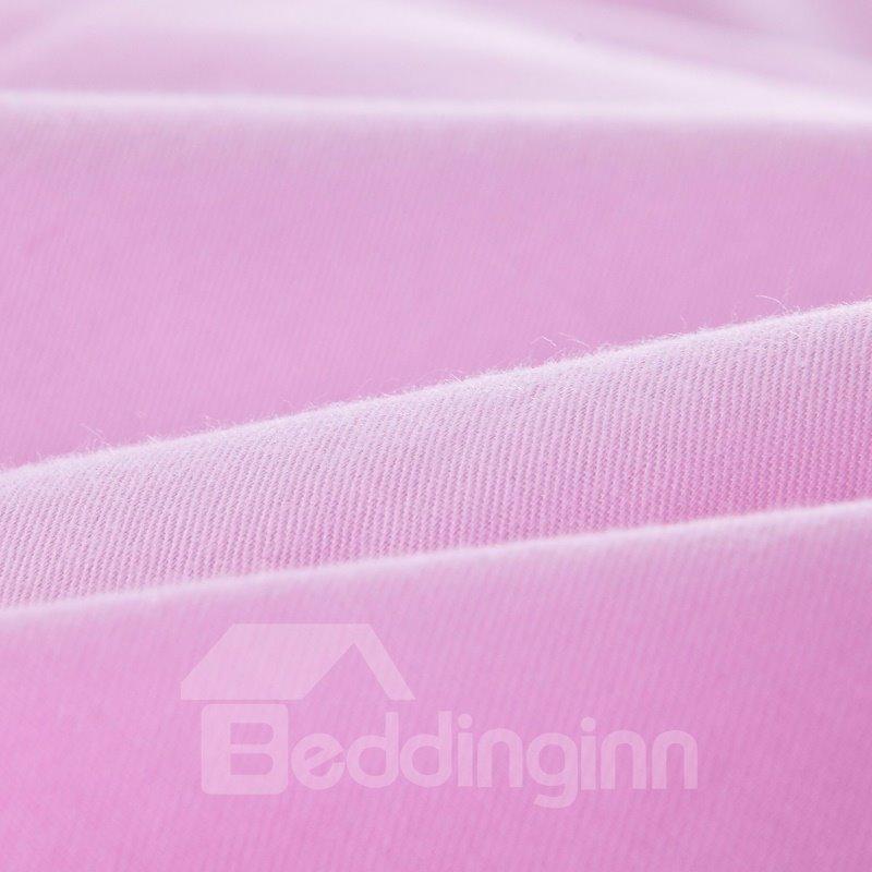 New Arrival 100% Cotton Flower Print 4-Piece Duvet Cover Sets