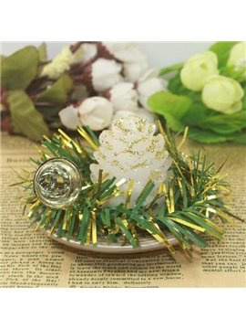 New Style Wonderful Pretty Pineal Christmas Candle