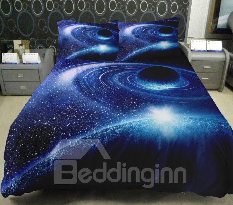 Magical Celestial Body Print 4-Piece Duvet Cover Sets