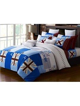 Top Quality European Style 100% Cotton 4-Piece Duvet Cover Sets