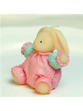 Pretty Wonderful High Classic Creative Lovely Rabbit Candle