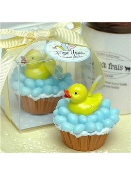 Wonderful High Quality Creative Yellow Duck Candle