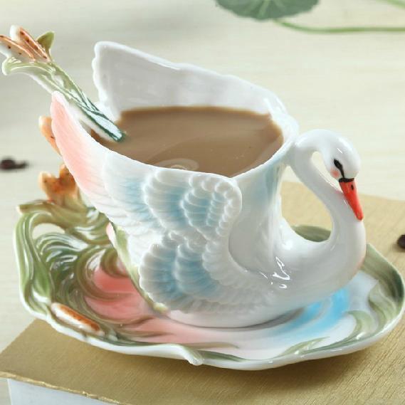 New Style Wonderful European Porcelain Enamel Coffee Mug