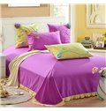 Hot Selling 100% Cotton Floral Pattern 4-Piece Duvet Cover Sets