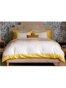 First Class High Quality Satin Drill Lemon Duvet Cover Sets