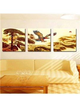 New Arrival Lanneret 3-Pieces of Crystal Film Art Wall Print