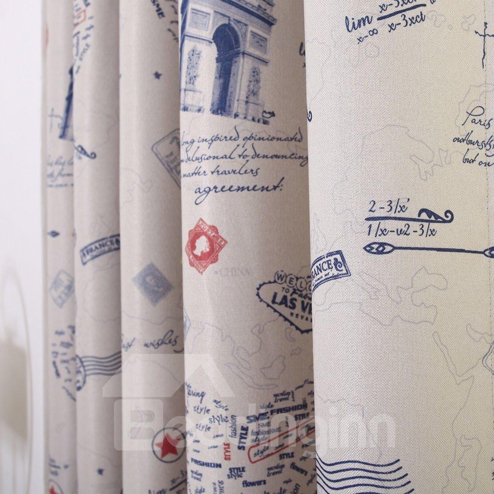Best Home Fashion Linen Custom Made Curtain
