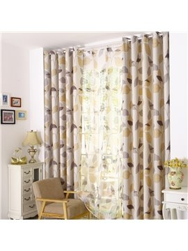 Concise Style Solid Light Insulation Custom Made Curtain