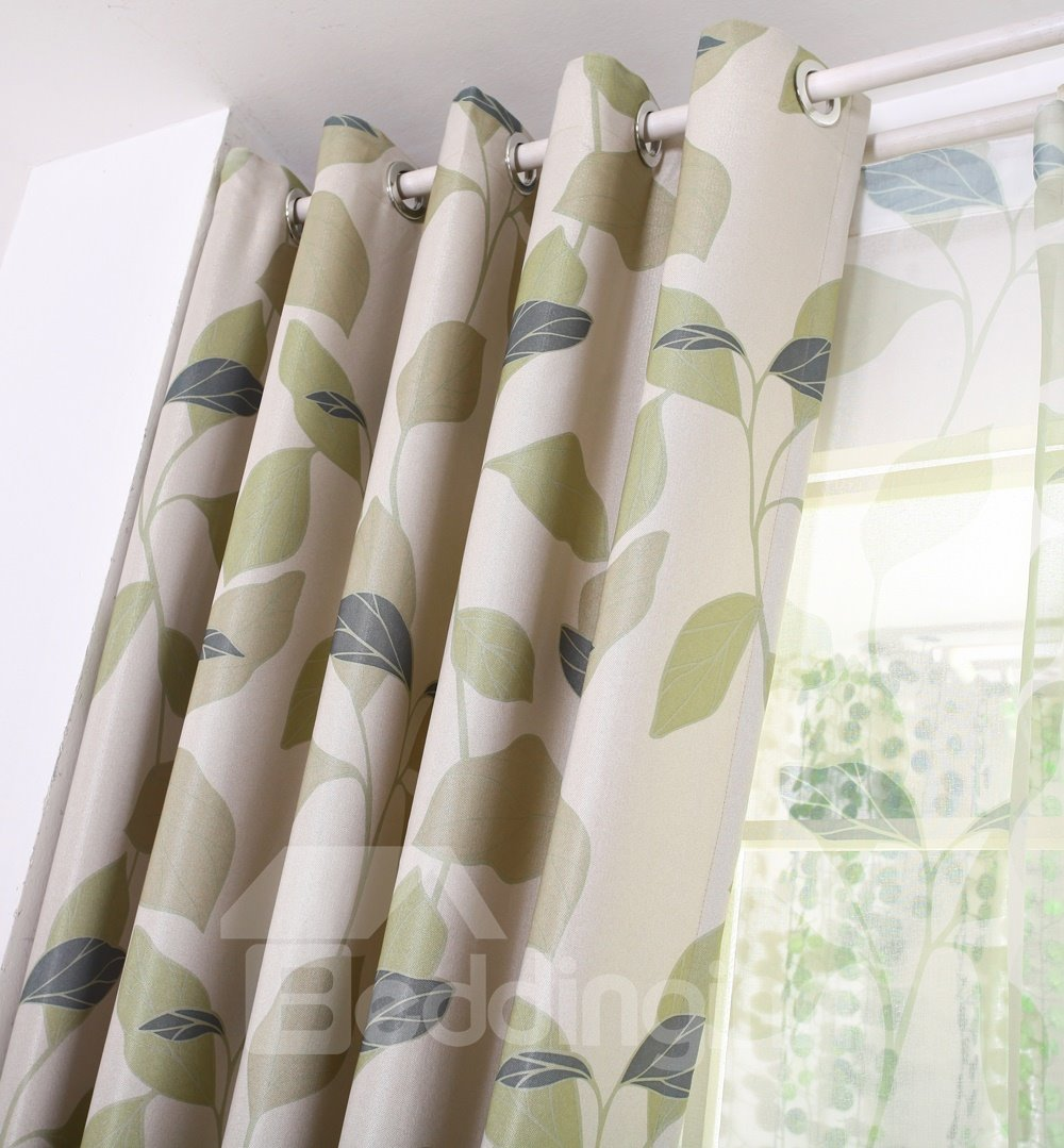 Concise Design Solid Light Insulation Custom Curtain