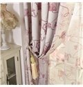 Classic Design Linen Blackout Custom Made Curtain