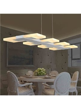 Unique Beautiful Alloy 8-Heads LED Pendant Lights