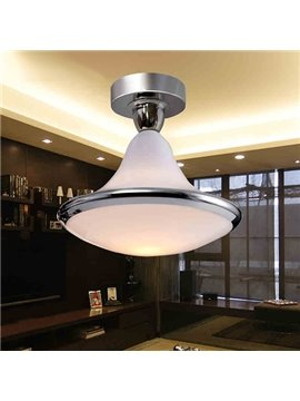 Contemporary Fantastic Decorative Electroplated Finish Flush Mount