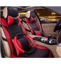 Classic Stylish And Attractive PU Leather Material Five Universal Car Seat Covers