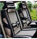 Simple Style Cool Ice Silk Material Universal Car Seat Cover