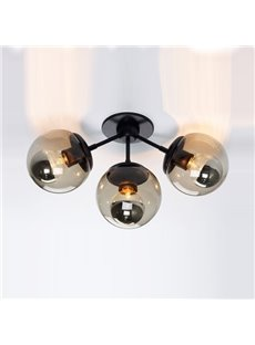 High Classic Wonderful 3-Heads Flush Mount